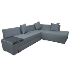 3 Seater Grey Magic Outdoor Sofa with Right Chaise