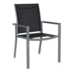 Portsea Aluminium Outdoor Sling Dining Chair
