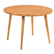 Polaris Round Wooden Outdoor Dining Table