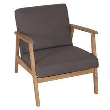Narvik Acacia Wood Outdoor Armchair