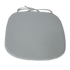 Grey Armchair Seat Cushion