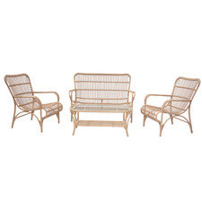 4 Seater Cairns Wicker Outdoor Sofa Set
