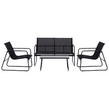 4 Seater Central Park Outdoor Lounge Set