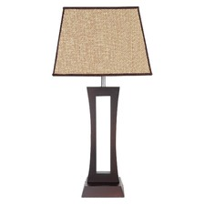 Trio Table Lamp in Chocolate