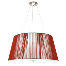 Paolo Pendant in Plum Red