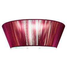 Paolo One Light Wall Sconce in Red