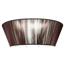 Paolo One Light Wall Sconce in Chocolate