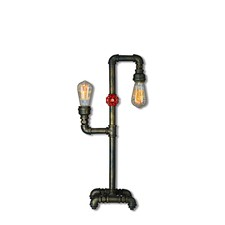 Pipe 2 Light Table Lamp