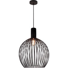 Gabbia Dark Wood Pendant