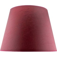 Shade Burgundy Taper Shade