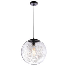 Black Sfera Wire Decor Pendant Light
