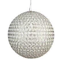 Large Krystal Ball Pendant Light