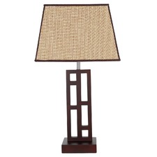 Chocolate Fuji Table Lamp