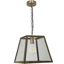 Creswick 1 Light Box Pendant