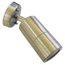 1 Light Rowan Stainless Steel Exterior Wall Light