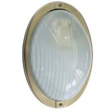 Oval Stainless Steel Bunker Light