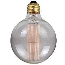 12.5cm Round Carbon Filament Bulb