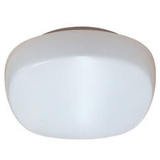 Opal White Gio LED Oyster Light