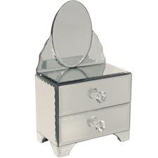 Vanity Glass Jewellery Box