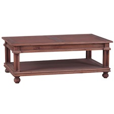 Country Cottage Mahogany Coffee Table