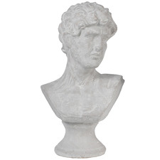 Large Grey Classical Male Bust