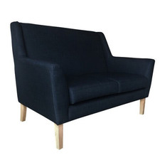 Navy Eden 2 Seater Sofa