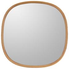 Rennie Oak Wood Mirror