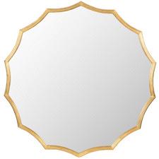 Mooney Scalloped Mirror