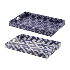 2 Piece Moselle Tray Set