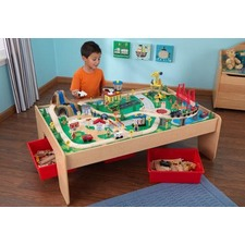 Waterfall Mountain Train Table and 120-pieces Set