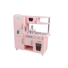Vintage Play Kitchen in Pink