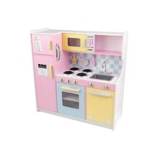 Large Play Kitchen in Pastel