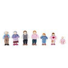 Caucasian Doll Family