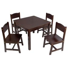 Farmhouse 4 Seater Kids' Table & Chairs Set