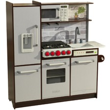 Uptown Elite Espresso Play Kitchen