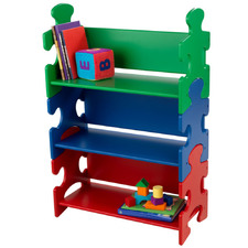 Kids' Primary Puzzle 3 Tier Bookshelf