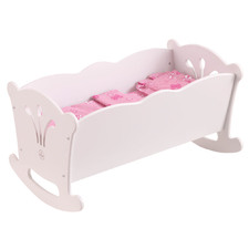 Kids' White Lil' Doll Cradle