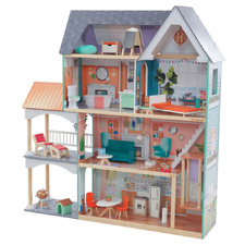 Dahlia Mansion 4 Level Dollhouse