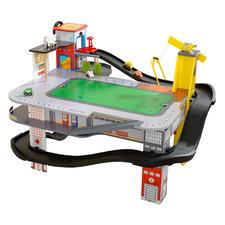 Freeway Frenzy Multi-Level Raceway & Table Play Set