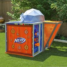 KidKraft Nerf Outdoor Headquarters Play Set