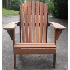 Hardwood Adirondack Chair