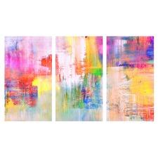 Summer Splash Triptych