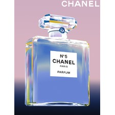 Vintage Chanel No 5 Artwork