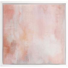 Peachy Keen Canvas Wall Art