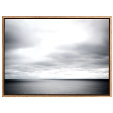 Mesmeric Clouds Canvas Wall Art