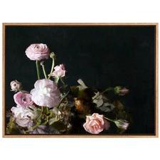 Still Life Floral Canvas Wall Art