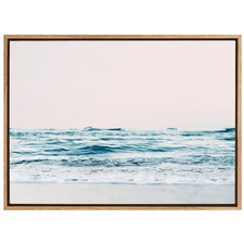 Gazing Over The Edge Canvas Wall Art