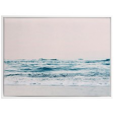 Gazing Over The Ocean Edge Canvas Wall Art