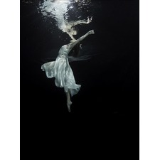 Weightless Ballerina Canvas Wall Art