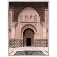 Moroccan Pool Canvas Wall Art